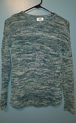 Old Navy Girls Blue Multi Cotton Sweater Size XL (14)