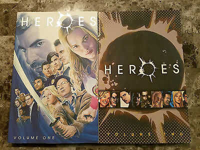 New Heroes Graphic Novel Volume 1 and 2
