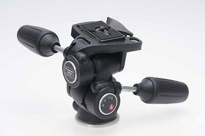 Manfrotto 804RC2 3-Way Pan/Tilt Head w/Quick Release                        #459