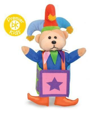 Beanie Kids Jack in the Box Bear NEW Size: 20cm Genuine Licensed Product
