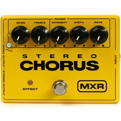 New Dunlop MXR M134 Stereo Chorus Guitar Effects Pedal + Free Shipping