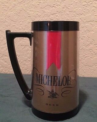 Vintage 1970's Thermo-Serv Michelob Plastic Insulated Beer Mug