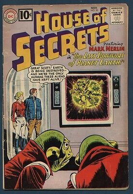 House of Secrets #50 VG 4.0 (1961)