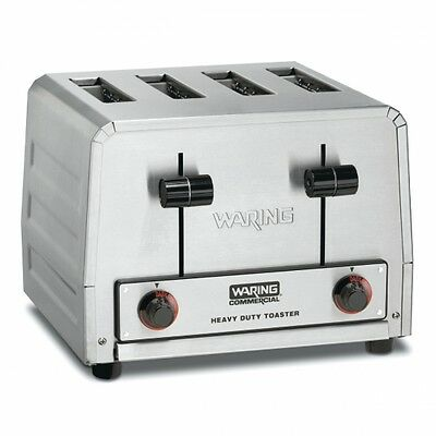 Waring WCT800 Commercial Heavy Duty 4 Slot Toaster 120V 1 YEAR WARRANTY 1800w