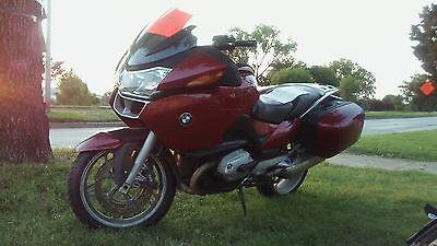 2005 BMW R-Series  2005 RED BMW  RT 1200 R Motorcycle.