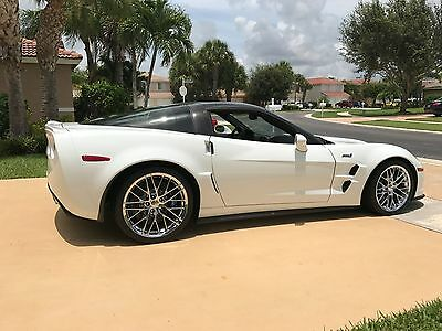 2012 Chevrolet Corvette ZR1 2012 Chevrolet Corvette ZR1 Artic White ONLY 180 MILES