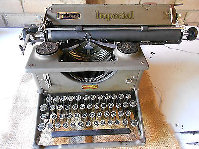 Antique Imperial typewriter - Working Condition!