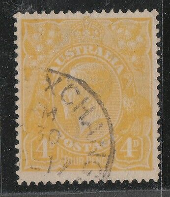 Kgv  4D Lemon  Single  Wmk  Fine Used
