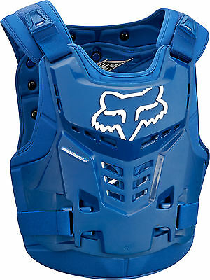 Fox MX Proframe LC Blue Adult Chest Protector/Roost Guard/Deflector ATV 2018
