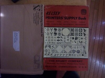 Kelsey press printer's supply book 1949