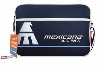 Sac Airlines Flight Retro Bag Mexicana