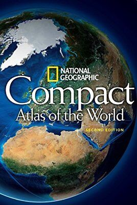 NG Compact Atlas of the World Nationa by National Geographic New Paperback Book