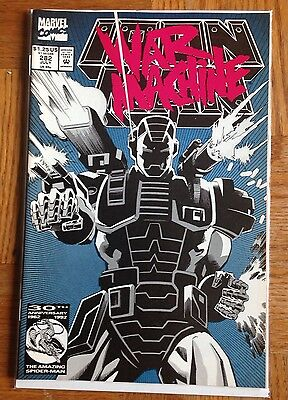 Iron Man #282 VF Hopgood Wiacek 1st Full Appearance War Machine