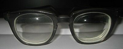 Vintage TITMUS Tart Arnel Style Safety Eyeglasses in Transparent Gray