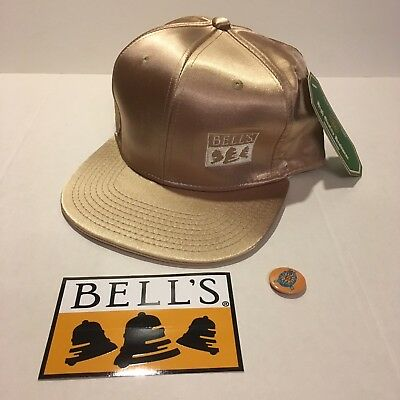 Bell's Brewery Gold Festival Hat Michigan Craft Beer Great Taste Of Midwest 2017