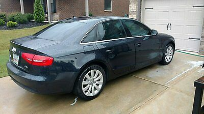 2013 Audi A4  2013 Audi A4 Sedan Blue 2.0L 4 Cly Turbo