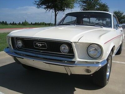 1968 Ford Mustang GT Coupe 1968 Ford Mustang Coupe GT  w/ Powersteering