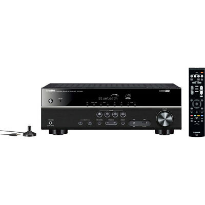 Yamaha RXV-383B 5.1ch Bluetooth AV Receiver 100W HDMI/HDR VIDEO 4K Pass/HDCP2.2