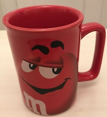 Official M&M'S RED CHARACTER COFFEE TEA MUG CUP 2013