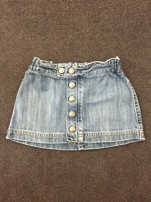 Fred Bare Denim Skirt. Size 4 (small sizing)