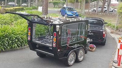 Carrier Hearse...a Specialised Vehicle, Designed And Built Here In Melbourne