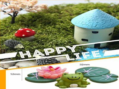 hot Miniature Dollhouse Bonsai Craft Garden Resin Landscape Decor Creative neuf