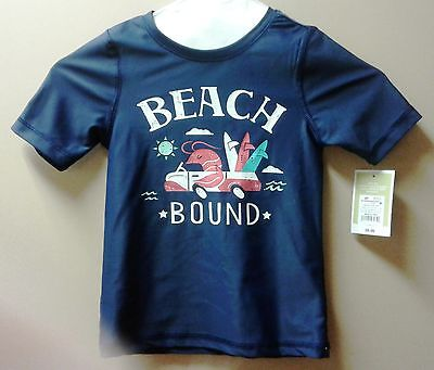 Toddler's swim shirt NWT navy blue -50+ SPF protection