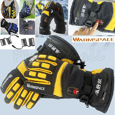 With 4000mAh Rechargeable Battery Warm Electric Heated Hands Warmer Smart Gloves