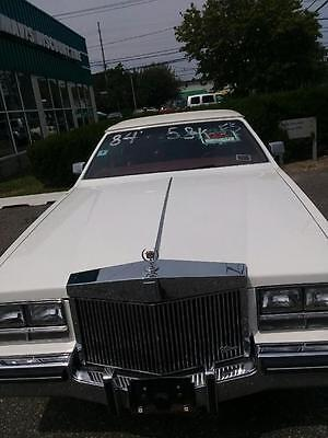 1984 Cadillac Seville  Cadillac Seville 1984 WHITE INTERIOR/BURGANDY LEATHER 8 CYL - 58,000 MILES !!