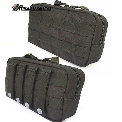 Molle Tactical Military EDC Utility Bag Medical First Aid Pouch Belt Tools Case