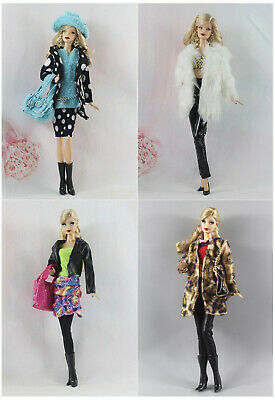 Hot 4 Set Outfit Fashion Handmade Evening Clothes/Casual wear For 11.5in.Doll