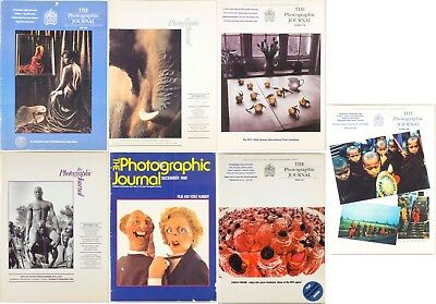 7 Royal Photographic Society Journal Magazines