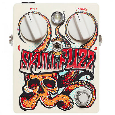 Dr No Effects Skull Fuzz Box Version Pedal