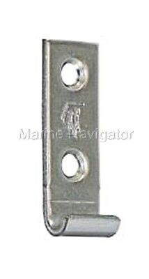 Hasp Closing Plate Straight 46x15mmMat Stainless Steel