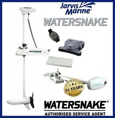 Jarvis Walker Watersnake Combat Electric Boat Motor 54lb Remote CRC54/48