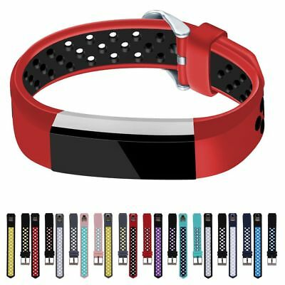 Sport Replacement Watch Band Silicone Wrist Strap Bracelet For Fitbit Alta/HR