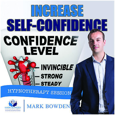 INCREASE SELF CONFIDENCE HYPNOSIS CD - Mark Bowden Hypnotherapy confident