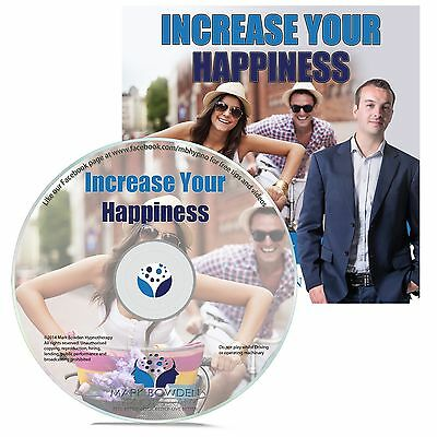 INCREASE YOUR HAPPINESS HYPNOSIS CD - Mark Bowden Hypnotherapy be happy