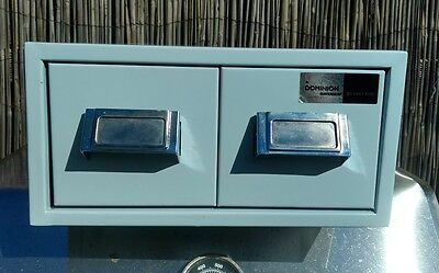 Small Metal Document Filing Cabinet X2