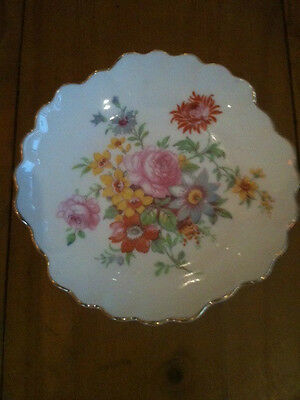 "ADDERLEY FLORAL POSY DISH 4 1/2"" = 115mm DIAMETER"