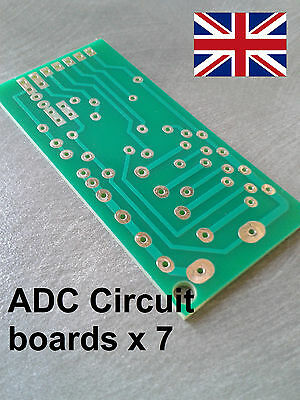 Qty 6 X Adc Printed Circuit Boards Discontinued New Item