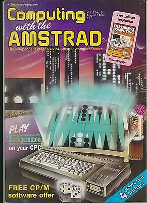 Computing With The Amstrad Vol 2 No 8  August 1986