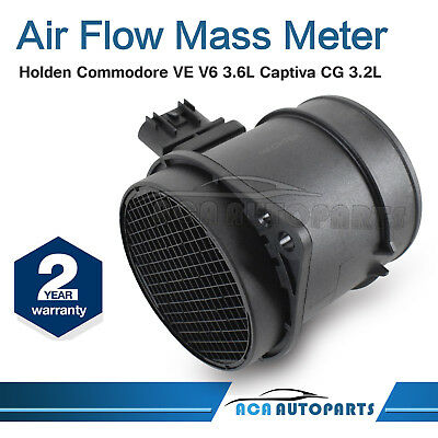 Mass Air Flow Meter Sensor for Holden Commodore VE V6 Statesman Captiva MAF AFM