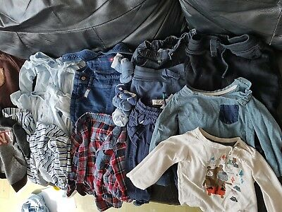 18 items baby boys clothes 9 to 12 months excellent condition