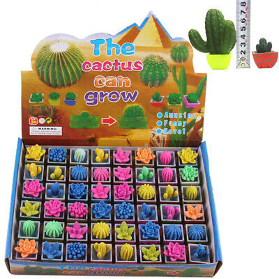 Growing Cactus Water Swell Growing Toy Cactus Gardens Gift For Toys 7NX