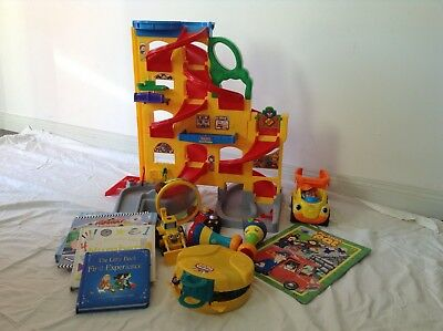 Fisher Price Little People Wheelies Ramp And Cars