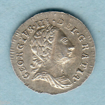 Great Britain.  1779 George 111 - Silver Penny..  EF/gVF