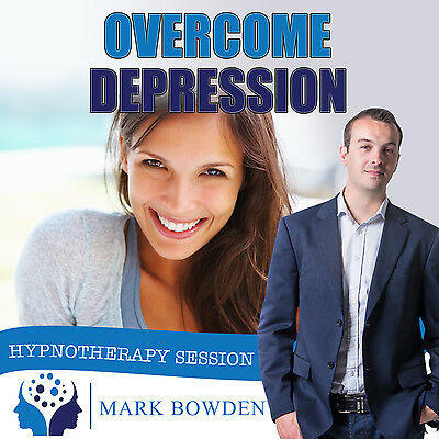OVERCOME DEPRESSION HYPNOSIS CD - Mark Bowden Hypnotherapy depressed help witth