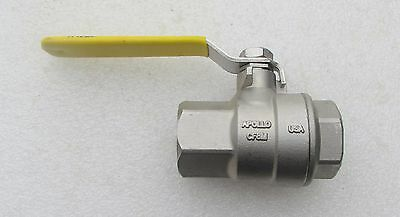 "APOLLO 1""  STAINLESS STEEL 3 PIECE BALL VALVE 1000 CWP Several Avail New"