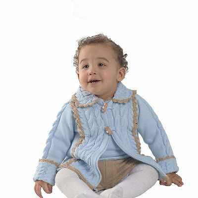 Rahigo Traditional Spanish Boy Knitted Cardigan 24m
